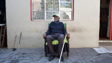 South African Fredie Blom, One of  World's Oldest Men And Spanish Flu Survivor, Celebrates His 116th Birthday