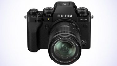 Fujifilm X-T4 Mirrorless Digital Camera Launched in India at Rs 1,54,999