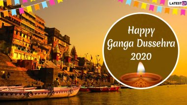 Ganga Dussehra 2020 Images and HD Wallpapers For Free Download Online: WhatsApp Messages, Wishes and Greetings to Celebrate Gangavatran