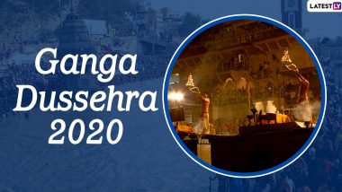 Ganga Dussehra 2020 Wishes in Hindi: WhatsApp Stickers, Facebook Greetings, Messages, Instagram Stories And SMS to Share on the Auspicious Day