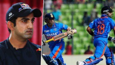 Gautam Gambhir Picks Sachin Tendulkar As Better ODI Batsman Than Virat Kohli, Here's Why