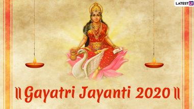 Gayatri Jayanti 2020 Date and Shubh Muhurat Timings: Know The Significance, Puja Vidhi and Rituals Of The Day That Celebrates Birth of Goddess Gayatri
