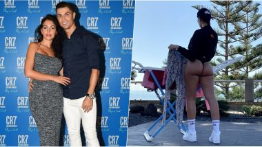 Georgina Rodríguez, Cristiano Ronaldo's Hot Girlfriend Bares Her Butt in G-String, Captions The Photo 'Cloths in the Air'