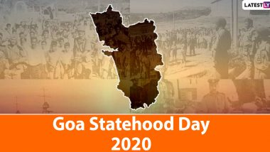 Goa Statehood Day 2020 Wishes: President Ram Nath Kovind, CM Pramod Sawant, Rahul Gandhi Greet Goans on This Special Day