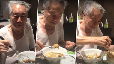 Dalgona Coffee by Grandfather! 91-Year-Old Making Viral Beverage With Grandchildren is Too Cute to Be Missed Out Part of This Viral Trend