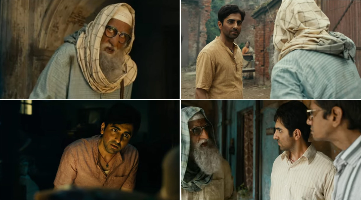 Gulabo Sitabo Trailer: Twitterati Is Already Impressed With Amitabh Bachchan and Ayushmann Khurrana's Fun Act! (Read Tweets)