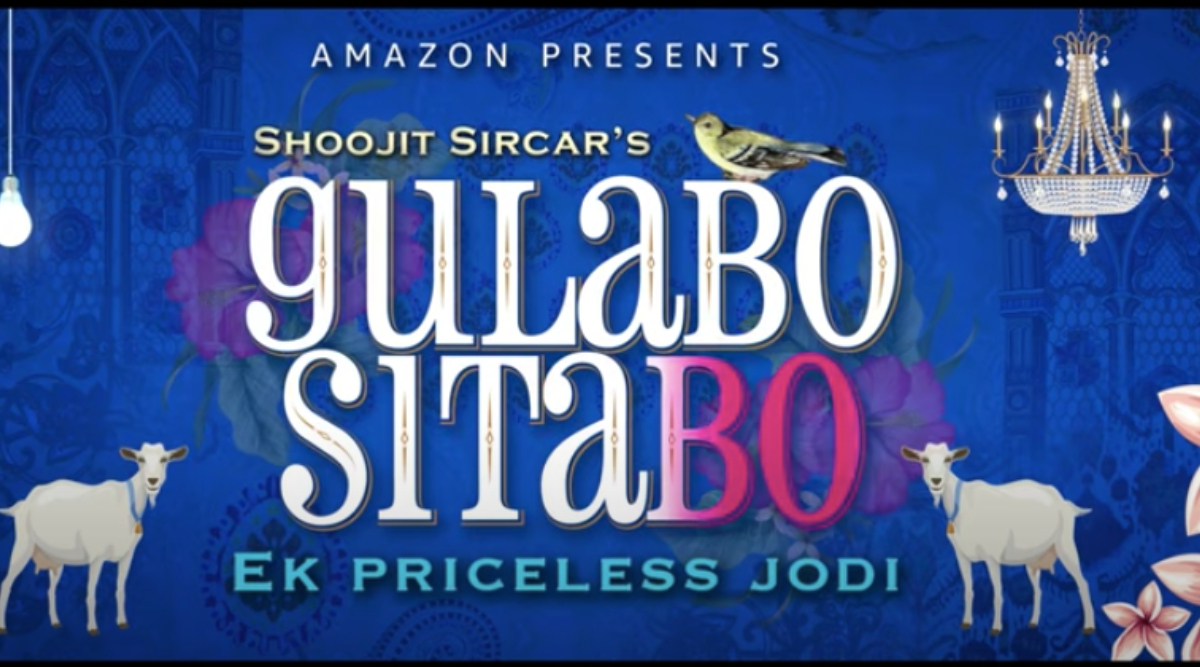 Gulabo Sitabo Motion Logo: Amitabh Bachchan and Ayushmann Khurrana's OTT Release About a 'Priceless Jodi' Has Us Super Excited (Watch Video)