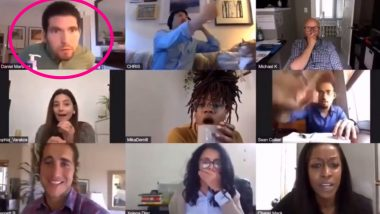 Guy Accidentally Masturbates on Zoom Call During Office Meeting? Pornhub Ad on Masturbation Day is Going Viral as Zoom Fails on Social Media
