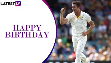 Pat Cummins Birthday Special: Quick Facts to Know About the Top-Ranked Test Bowler