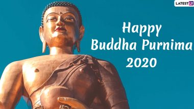 Buddha Purnima 2020 Images & HD Wallpapers for Free Download Online: Vesak WhatsApp Stickers, Facebook Messages, GIFs & SMS to Celebrate Gautama Buddha's Birthday
