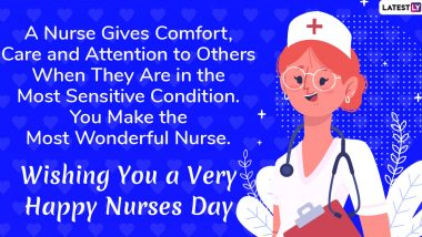 National Nurses Week (US) 2020 Wishes: WhatsApp Stickers, Facebook Greetings, SMS And Messages to Thank Medics For Their Selfless Work