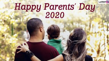 Parents' Day Images & HD Wallpapers for Free Download Online: Wish Happy Parents' Day 2020 With WhatsApp Stickers and GIF Greetings