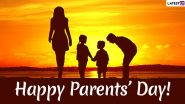 Happy Parents' Day 2020 Greetings: WhatsApp Stickers, GIF Images, Family Quotes and Messages to Send on Global Day of Parents