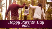 Global Day of Parents 2020 HD Images & Wallpapers For Free Download Online: WhatsApp Stickers, Facebook Greetings, GIFs, SMS, Instagram Stories And Messages to Share With Your Mother And Father