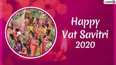 Happy Vat Savitri 2020 HD Images & Wallpapers For Free Download Online: WhatsApp Stickers, Vat Purnima Photos, GIFs And Messages on Send on The Auspicious Occasion