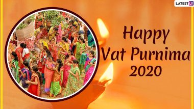 Vat Savitri Vrat 2020 Wishes And Images: WhatsApp Stickers, Facebook Greetings And Instagram Stories to Wish The Hindu Festival