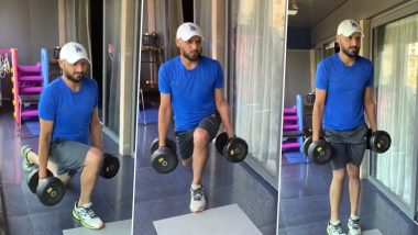 Harbhajan Singh Posts Workout Video, Virat Kohli Roasts Him With Funny Comment (See Post)