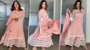 Hina Khan's Pink Embroidered Outfit For Eid 2020 Is A Mix Of Ethnic And Ethereal With A Pinch Of Simplicity (View Pics)