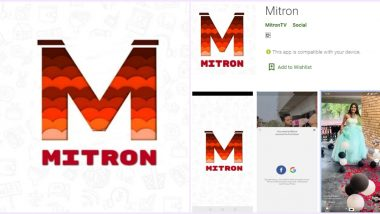 How to Use Mitron App? Step-by-Step Guide to Download and Make Short Videos on The Indian Application, An Alternative to TikTok (Watch Video)