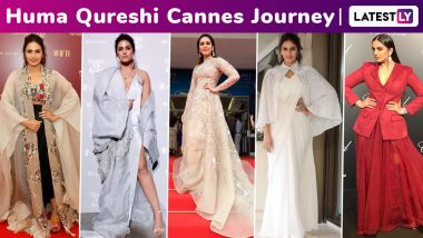 Huma Qureshi Cannes Journey: Two Years of Edgy Fashion, Sensational Spunk and Red Carpet Sass!