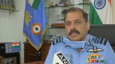 IAF Chief RKS Bhadauria Arrives in Colombo for Sri Lanka Air Force 70th Anniversary Celebrations