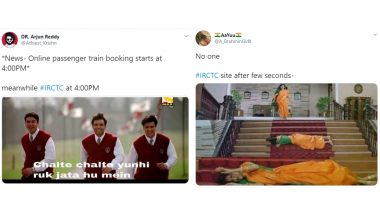 Indian Railways Ticket Booking Website IRCTC Down! Funny Memes Should Bring Some Respite to Passengers Hoping to Book Train Tickets Online