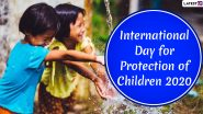 International Day for Protection of Children 2020 Date and Significance: Know About The Day That Raises Awareness on Children's Rights