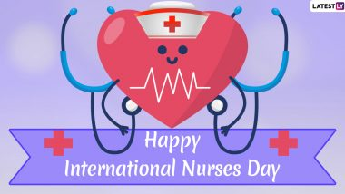 International Nurses Day Images & HD Wallpapers for Free Download Online: Wish Happy Nurses Day 2020 With WhatsApp Stickers and GIF Greetings
