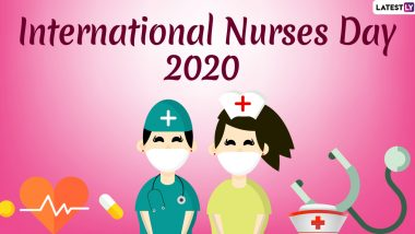 Happy Nurses Day 2020 Wishes & HD Images: WhatsApp Stickers, Quotes, GIF Greetings, SMS and Facebook Messages to Send on International Nurses Day