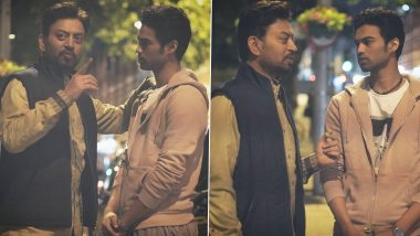 Irrfan Khan's Son Babil Shares a Heavenly Toon In His Father's Memory and It'll Surely Make You Smile (View Post)