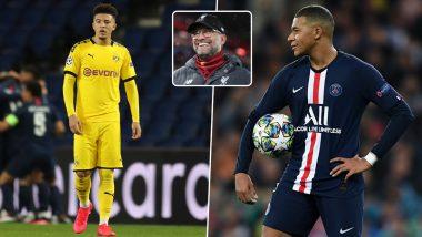 Jadon Sancho & Kylian Mbappe Transfer News Update: Liverpool Coach Jurgen Klopp Keeps Door Open for 'Talented Pair'