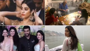 Janhvi Kapoor's Quarantine Tapes: You Know the Actress, Now Get To Know Person Behind the Glam, In This Bare-All Lockdown Confession (Watch Video)