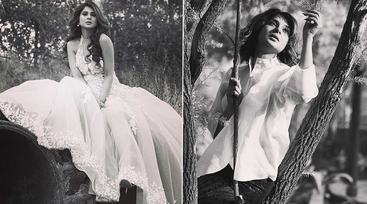 Jennifer Winget's Throwback Monochrome Photoshoot Showcases Her Quarantine Moods And It's Sexy AF (View Pics)
