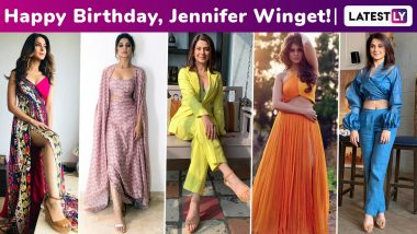 Jennifer Winget Birthday Special: Classy and Sassy Always, Her Fashion Arsenal Is a Style Potpourri With Every Ensemble Worthy of a Bookmark!