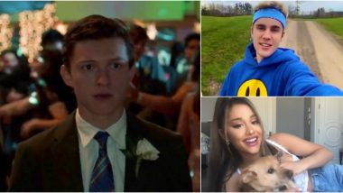 Justin Bieber and Ariana Grande's Quarantine Track 'Stuck With U' Gets a Tom Holland Fan Edit and It's Unmissable! (Watch Video)