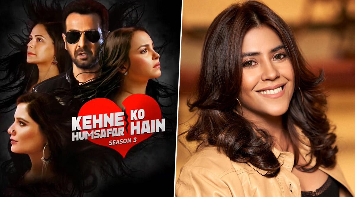 Kehne Ko Humsafar Hain Season 3: Ekta Kapoor Announces The Third Season of Mona Singh, Ronit Roy, Gurdip Kohli Punjj's Love Triangle (Watch Teaser)