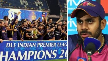 Manoj Tiwary Disappointed After KKR Exclude Him and Shakib Al Hasan From Maiden Title's Celebratory Post