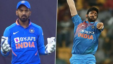 KL Rahul Picks Jasprit Bumrah As the Toughest Bowler to Keep To
