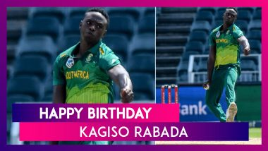 Kagiso Rabada Birthday Special: Five Best Bowling Performances By South Africa's Pace Spearhead