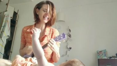 Mommy Kalki Koechlin Sings the Bengali Lullaby 'Ghum Parani Mashi Pishi' to Baby Sappho and We Are All Hearts for It (Watch Video)