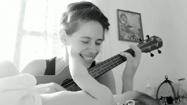 Kalki Koechlin Croons a Sweet Melody for Baby Sappho and it's the Cutest Video You'll See on the Internet Today!