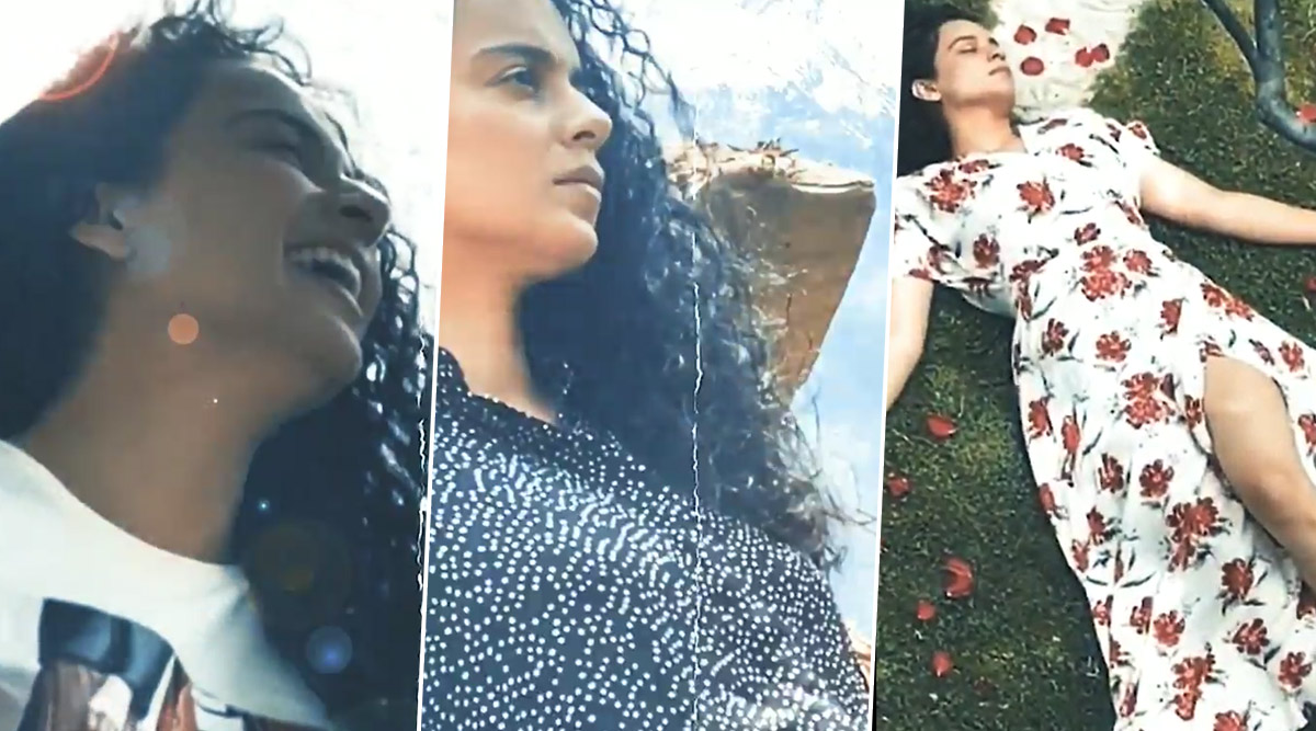 Kangana Ranaut Pens 'Aasmaan', An Ode to a Love Lost, Tears Gained and a Symphony of Leftover Emotions (Watch Video)