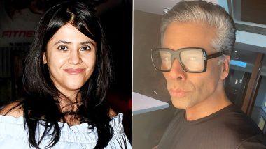 Karan Johar's Salt and Pepper Look Prompts Ekta Kapoor to Offer Him 'Rishabh Bajaj's' Role From Kasautii Zindagi Kay!