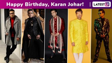 Karan Johar Birthday Special: The ABCs of His Debonair, Eclectic and Flamboyant Avalanche of a Fashion Arsenal!