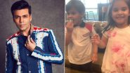 Karan Johar's Birthday Cake Is Devoured By Yash And Roohi Because They Don't Want 'Dadda To Get Fat' (Watch Video)