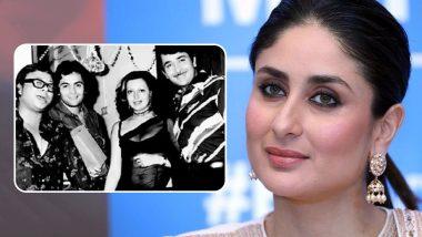Throwback Thursday: Kareena Kapoor Khan Shares An 'Irreplaceable' Photo Featuring Rishi Kapoor With Randhir Kapoor, Babita and Late RD Burman