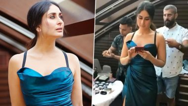 Kareena Kapoor Khan, All Glammed Up and Gorgeous but Totally Engrossed in Her Phone in This Throwback Boomerang Video!