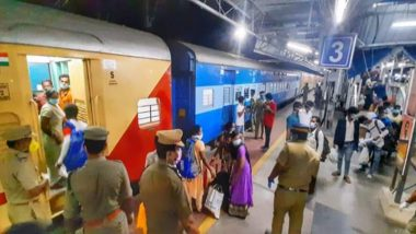 Special Train Carrying 1140 Migrants Labourers Departs from Kerala for Odisha