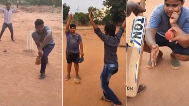 DRS Without Technology! Ravi Ashwin Shares Hilarious Video of Kids Enacting Use of Decision Review System in Gully Cricket