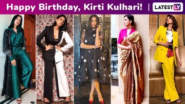 Kirti Kulhari Birthday Special: Subdued Glamour, Flawless Beauty and Oodles of Spunk, Her Versatile Fashion Arsenal Is a Masterclass in Keeping It Slick and Sleek!